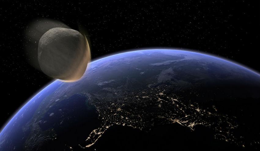 Resultado de imagem para Astrônomo afirma que asteroide catastrófico se chocará com a Terra em 16 de fevereiro