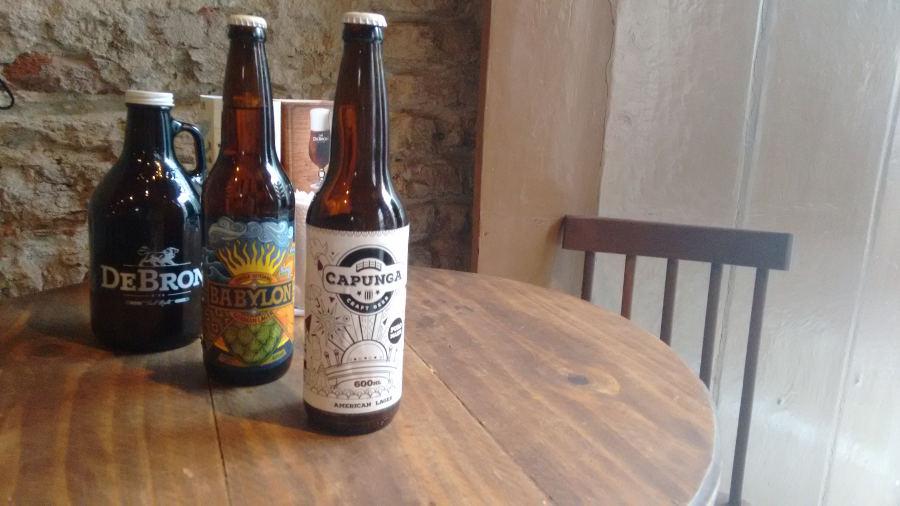 As cervejas Capunga, Babylon e De Bron são algumas das produzidas em Pernambuco Foto: Katarina Bandeira/Esp.DP