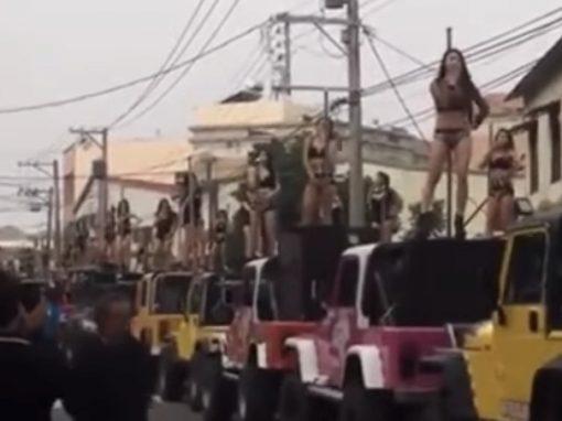 Filho contrata 50 strippers para funeral do pai