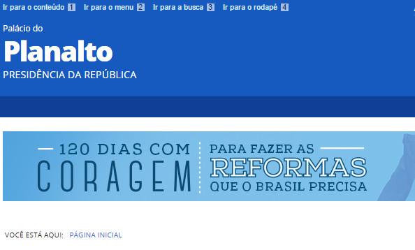 Palácio do Planalto/Reprodução
