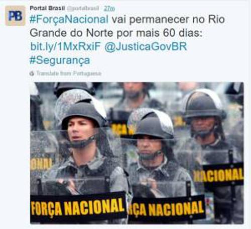 Portal Brasil/Twitter