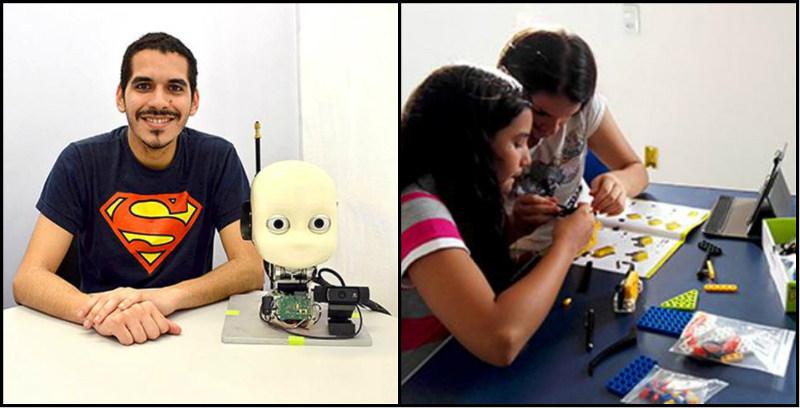 Engenheiro na Alemanha, jovem retorna ao Sertão para abrir escola de robótica