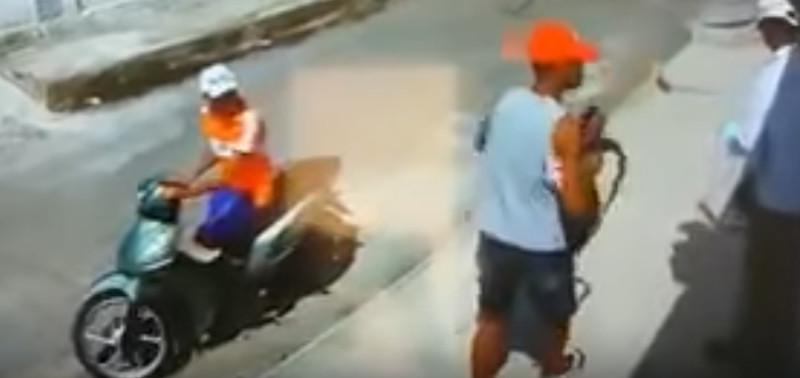 Homem é assaltado por motoqueiro amputado e comparsa deficiente visual