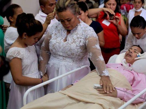 Paciente de UTI morre 6 dias após casar em hospital