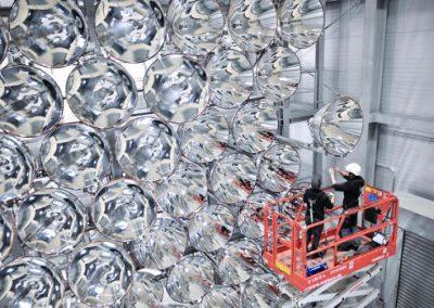 Cientistas alemães ativam maior sol artificial do mundo