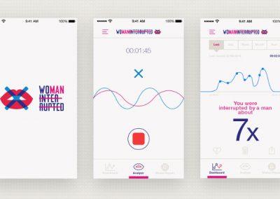 App mostra o quanto mulheres são interrompidas por homens