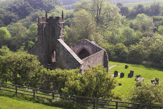 Vilarejo de Wharram Percy - Wikimedia Commons/Reprodução