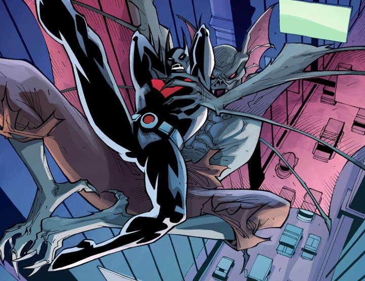 Batman Beyond por Thony Silas - DC Comics/Reprodução