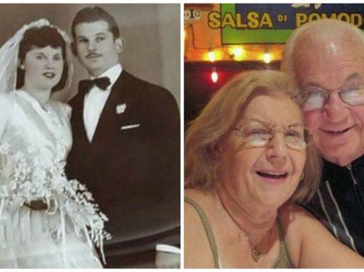 Após 69 anos de casamento, casal morre de mãos dadas, com 40 minutos de diferença