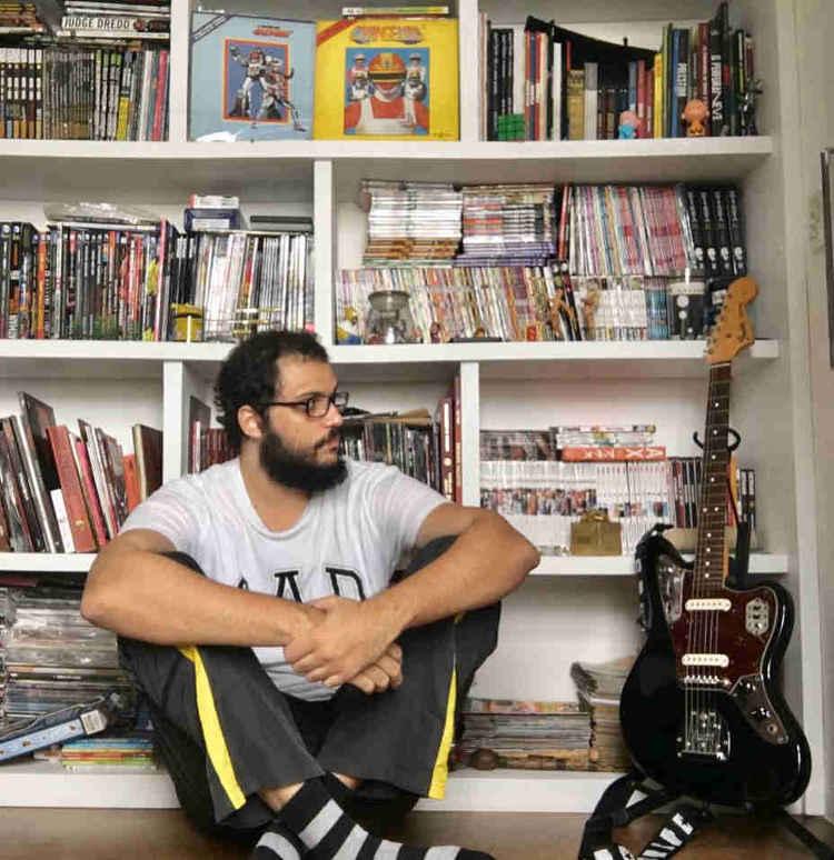 O músico, jornalista e leitor de HQs Fernando Athayde/Arquivo pessoal