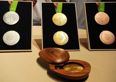 130 medalhas das Olimpíadas Rio 2016 com ferrugem foram devolvidas
