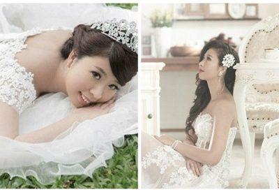 Mulher com câncer realiza sonho ao fazer ensaio vestida de noiva