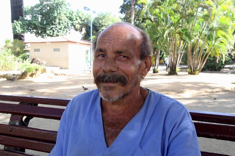 José Carlos ventura, funcionário do 13 de Maio - Nando Chiappetta/DP