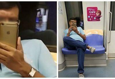 Por reflexo da janela, homem é flagrado filmando mulher em metrô