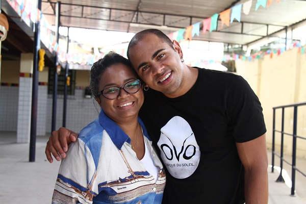 Para Ana Paula Mendonça, Wellington é inspiração Marlon Diego / Esp. DP