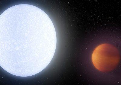 Planeta mais quente já relatado é descoberto