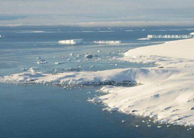 Gelo antártico deve conter maior área vulcânica mundial