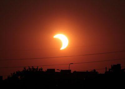 Como observar eclipse solar do dia 21 a partir do Recife