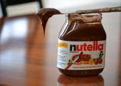 Ladrões furtam 22 toneladas de Nutella e chocolates