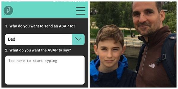 Pai cria app para obrigar filho a responder mensagens