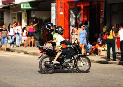 Mototaxistas legalizados em Jaboatão