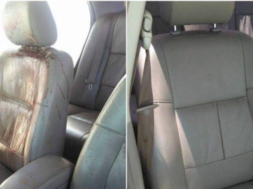 """Ao postar """"antes e depois"""" de carro ensanguentado, lava jato cria polêmica"""