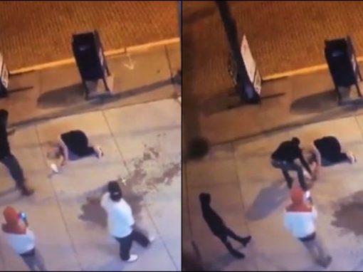 Pedestres tiram selfies e roubam mulher desacordada após espancamento
