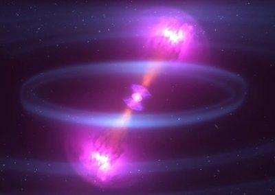 Registro de ondas gravitacionais permite cálculo de expansão do universo
