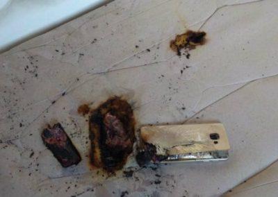 Celular explode debaixo de travesseiro e deixa estudante ferida no Piauí