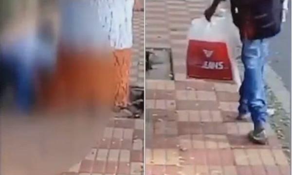 Mulher é estuprada em avenida e pessoas preferem filmar a ajudar