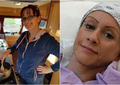 Mulher trata câncer com dinheiro arrecadado pela esposa do ex-marido