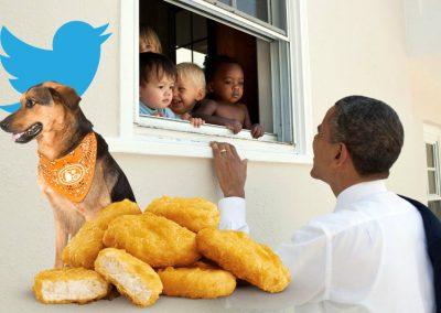 Furacão, Obama e até nuggets: veja assuntos mais retweetados de 2017