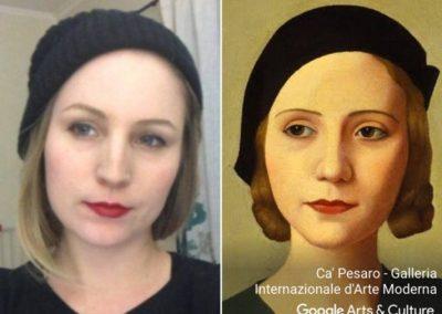 Ferramenta encontra seu sósia em obras de arte com apenas uma selfie