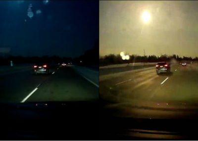 Queda de meteorito que causou terremoto é registrada em vídeo