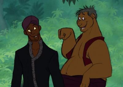 Bagheera e Baloo _ Mogli o Menino Lobo