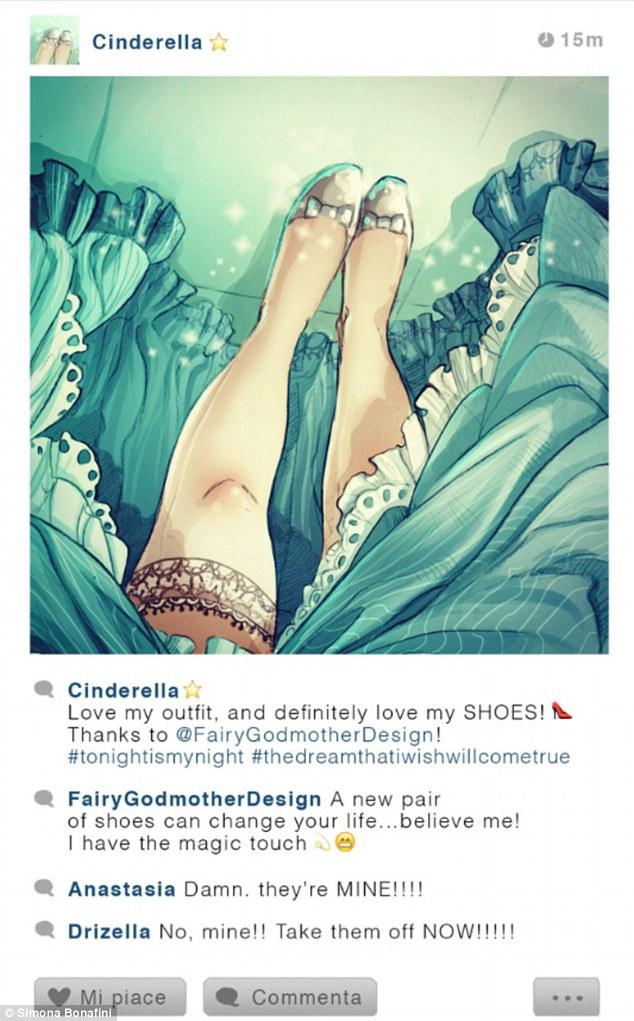 """""""Adorei meu visual e definitivamente amo meus sapatos! Obrigado a @FadaMadrinhaDesign #hojeeminhanoite #osonhoquedesejeivaiserealizar"""""""