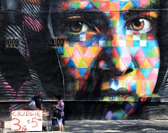 Eduardo Kobra, o pintor de Luiz Gonzaga na Prefeitura do Recife