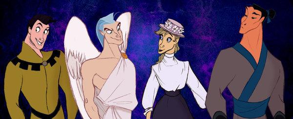 Samson, Pegasus, Frou-Frou e Khan _ Mulan