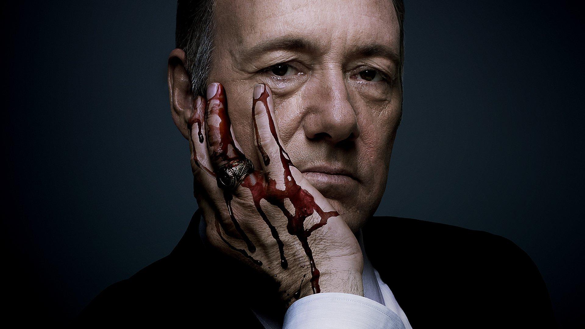 House of Cards - Sucesso absoluto de crítica, inclusive em premiações, trata da política de dentro do Congresso norte-americano