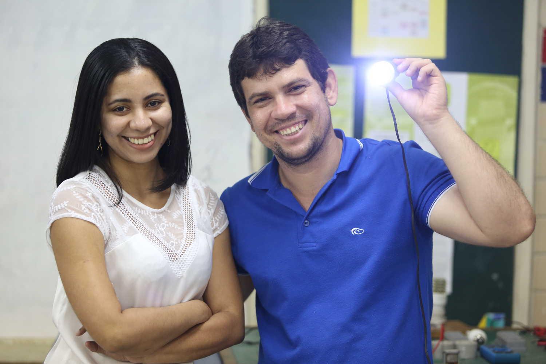 Maria Daniele e Carlos Humberto são os idealizadores do projeto