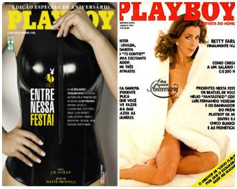 """Todas as 451 capas e curiosidades sobre a Playboy antes do """"fim"""" da revista no Brasil"""
