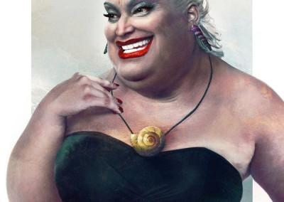 Ursula, de A Pequena Sereia