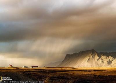 """Que haja Luz"" (Islândia), por Adrian Treze"