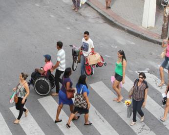 A rua recifense onde quem manda é o pedestre