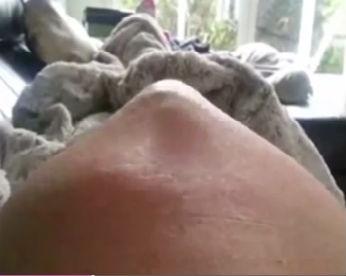 Gestante grava bebê se movendo na barriga e vídeo surpreende