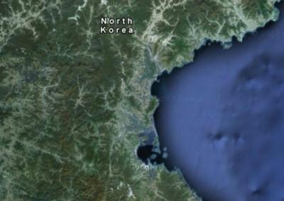 3 - Parte da Coreia do Norte