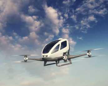 Empresa anuncia drone capaz de transportar passageiros