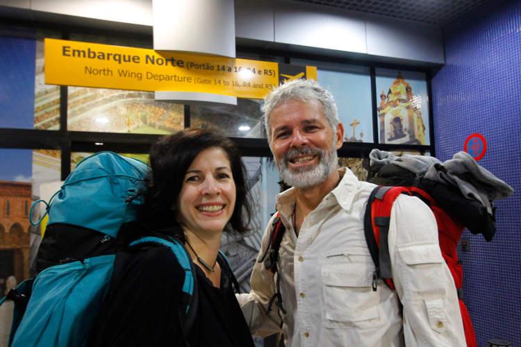 Casal do Recife troca emprego estável por nomadismo digital, viajando pelo mundo