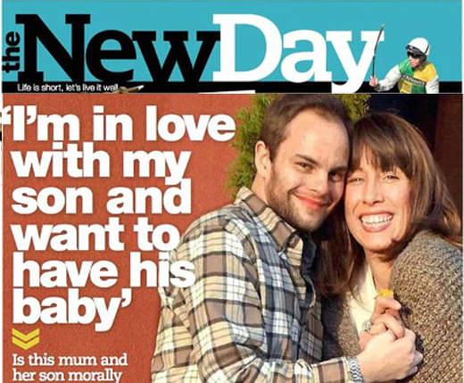Mãe e filho, juntos há dois anos, planejam ter um bebê, no Reino Unido