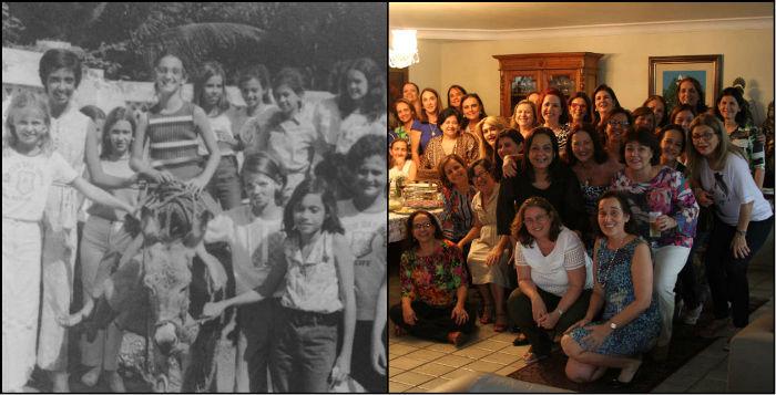 Alunas de colégio se reúnem 40 anos após formatura